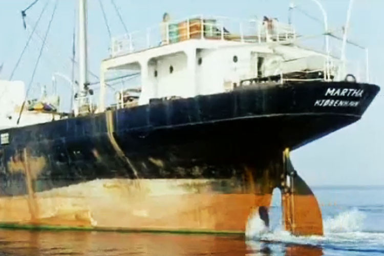 Skibet Martha - i Svendborg